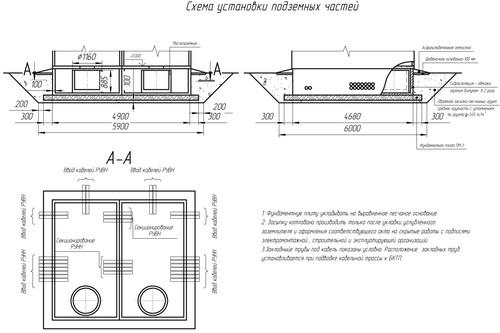 камеры КСО-3 с номинальным